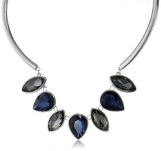 """Amazon.com: Kenneth Cole New York """"Marquis Stone"""" Faceted Gem Necklace, 18"""": Jewelry"""