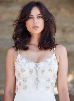 Gatsby Bodice Wedding Dress I Anna Schimmel I Bridal I NZ