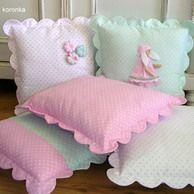 I love sewing ^_^ Cute Cushions, Cute Pillows, Baby Pillows, Throw Pillows, Love Sewing, Baby Sewing, Cushion Covers, Pillow Covers, Sewing Crafts