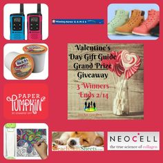 Cassandra M's Place: Valentine's Day  Grand Prize Giveaway
