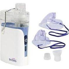 kit de nebulización inhalación Scala SC350 con boquilla, con la máscara de respiración