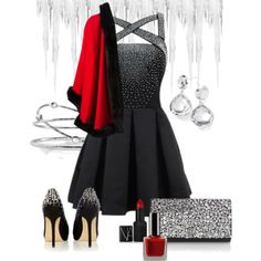 """""""dripping in shimmer"""" by finksjewelers on Polyvore"""