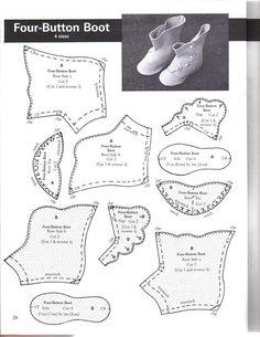 Make Doll Shoes. Обсуждение на LiveInternet - Российский Сервис Онлайн-Дневников