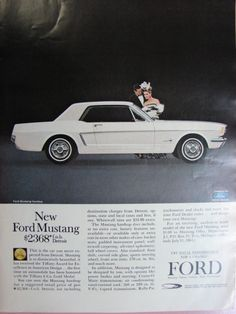 1964-65 Ford Mustang, another of my favorite cars to drive
