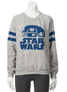 Mighty Fine Star Wars R2D2 Sweatshirt - Juniors