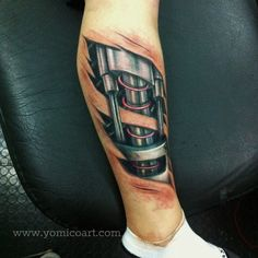 biomechanic tattoo | Tumblr