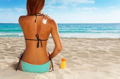 Consumer Reports has a warning for us - nearly half of sunscreen products in the U. fail to live up to the SPF claim on their bottles. Skin Care Regimen, Skin Care Tips, How To Tan Faster, Tanning Tips, Cosmetic Items, Going Natural, Tan Skin, Good Skin, Natural Skin Care