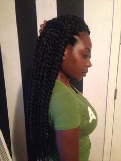 Havana mambo twist 24' crochet twist !! Protective hair style & quick and easy to do !!