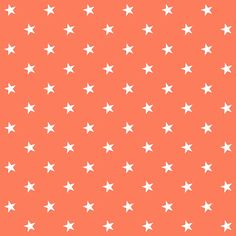 free digital orange  scrapbooking paper with stars: printable DIY wrapping paper