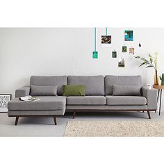 Time To Try a Recliner Sofa. A reclining couch permits you to relax totally in the most comfy of positions, as your legs recline in the chair, it fully supports your back and neck. Living Room, Living Room Sofa, Scandinavian Couch, Home Furniture, Sofa, Corner Couch, House Interior, Home And Living, Couch