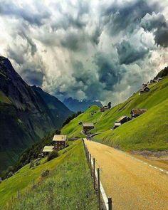 Klausson Pass, Switzerland