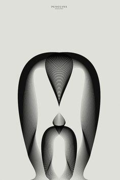 Designer basé à Milan, Andrea Minini vient de terminer une nouvelle série d'animaux illustrés par des effets de texture moiré.  Animals in Moiré est une série d'illustrations vectorielles basée sur l'outil Illustrator. L'objectif de l'artiste était d'obtenir des formes complexes et de la profondeur à partir de quelques lignes. Un défi remporté haut la main.
