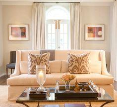 belle maison: living room.
