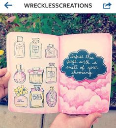 Pour finir - Infuse this page with a smell of your choice