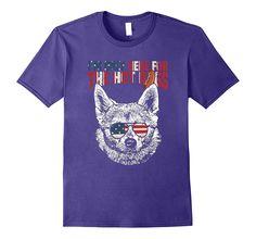 Norwegian Buhund Shirt Funny 4th of July Pup Tee