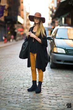 Les couleurs tendances de la saison: le jaune moutarde