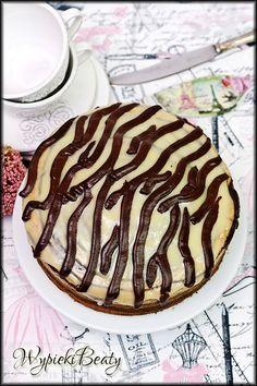 ciasto w paski zebra