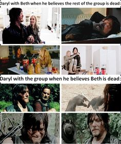 Beth gave him hope and now... Bethyl twd, Beth Greene and Daryl Dixon | The Walking Dead