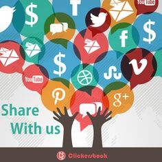 Share  With Us! Clickersbook Social Traffic Exchange