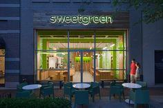 "Sweetgreen, Bethesda, MD. My favorite ""green"" spot for lunch. Great salads & frozen yogurt."