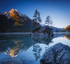 Photograph Mountain Sunrise by Thomas Mader on 500px