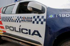 Após confusão, PM detém adolescente pilotando motocicleta sem habilitação em Rosário Oeste.