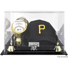 Pittsburgh Pirates Fanatics Authentic Acrylic Cap and Baseball Logo Display Case - $64.99