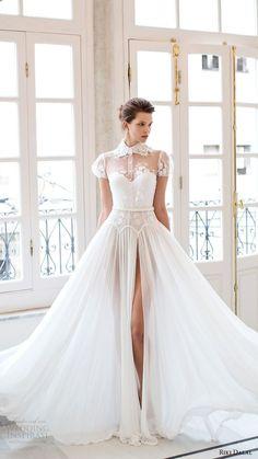 short sleeved victorian inspired wedding dress