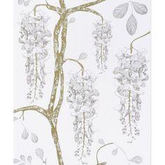 Shack Furnishings Jocelyn Warner Wallpaper Wisteria 15 - Wallpaper