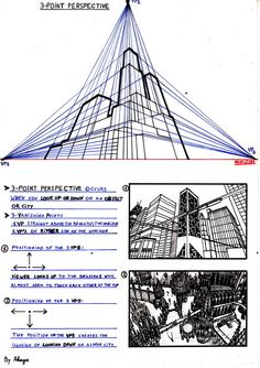 This is an example of perspective for my deviant friend . The third in a series. Here are the links to the other two: [link] [link] grtz akaga Perspective Tutorial III Perspective Drawing Lessons, Perspective Art, Drawing Skills, Drawing Techniques, Drawing Tips, Three Point Perspective, Art Basics, 3d Drawings, Elements Of Art