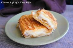 'French Onion Grilled Cheese Sandwich'   Source: A Bird in the Kitchen…