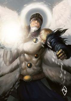Angemon! by mangamie.deviantart.com on @DeviantArt