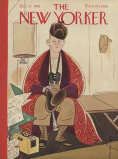 The New Yorker - Saturday, December 27, 1941 - Issue # 880 - Vol. 17 - N° 46 - Cover by : Rea Irvin