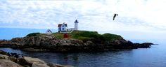 Nubble Light House near York, Maine