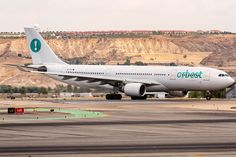CS-TRX Orbest Airbus A330-223 @ departing viay Rwy 14 to Cancun (CUN) @ Madrid Barajas (MAD) - 21.8.2015 (22151444079) - Orbest - Wikipedia