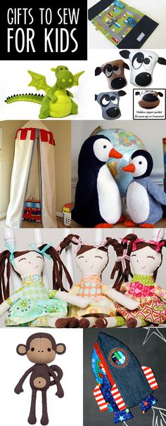 Gifts to sew for kids!