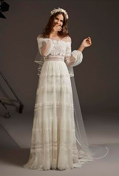 DELPHINE Cruise Collection, Ever And Ever, Romantic Things, Modern Love, Boho, Marie, Metz, Wedding Inspiration, Wedding Dresses