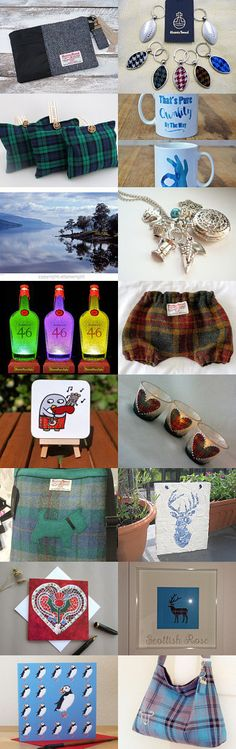 Scottish Gifts by sewmoira @IHeartScotland Team by Moira Lawrance on Etsy--Pinned+with+TreasuryPin.com