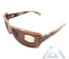 ea6955040289 Costa Del Mar Islamorada Sunglasses - Tan & Brown Morena Frame - Polarized  Copper 580P