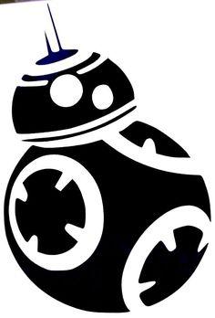 Star Wars BB-8 Droid BB8 Unit Cool Car Window Vinyl Decal Sticker 12 COLORS! #TheStickerEmporium