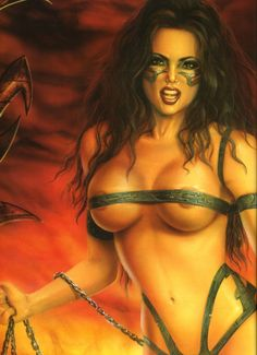 Dibujos De Comix: Lorenzo Sperlonga. Art Fantastix Nº11 - The Art Of