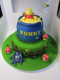 Winnie the Pooh Cake by MarksCakes