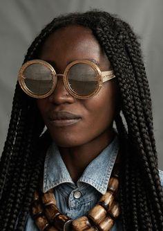 Karen Walker Eyewar x Kenya Artisans @Sassncurlz