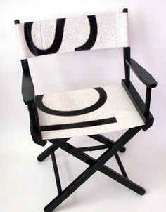 Recycled Billboard director chair