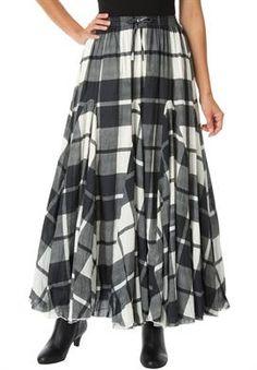 Cotton Maxi Skirt | Plus Size Skirts | Jessica London