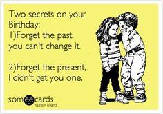 2 Secrets On Your Birthday