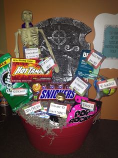 40th Birthday Gift Basket Ideas The Receiver Thought These Were
