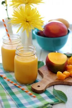 Mango Smoothie Recipe - The Magnolia Mom's Blog