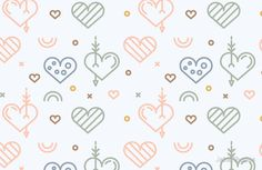 Hearts & Bows Pastel Chic Love