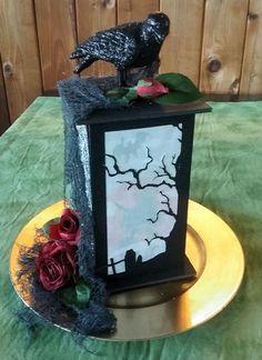 tissue box challenge spooky lantern